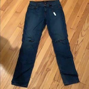 J Brand skinny leg mid-rise jeans size 26